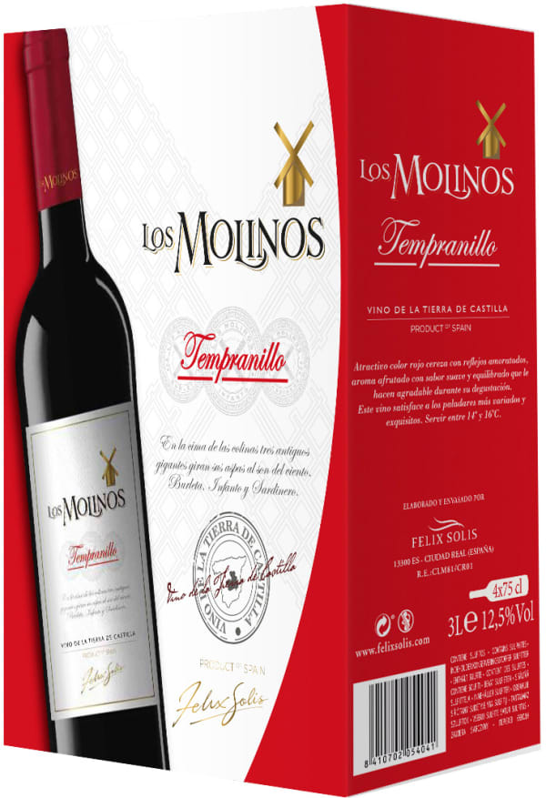 Los Molinos Tempranillo bag-in-box