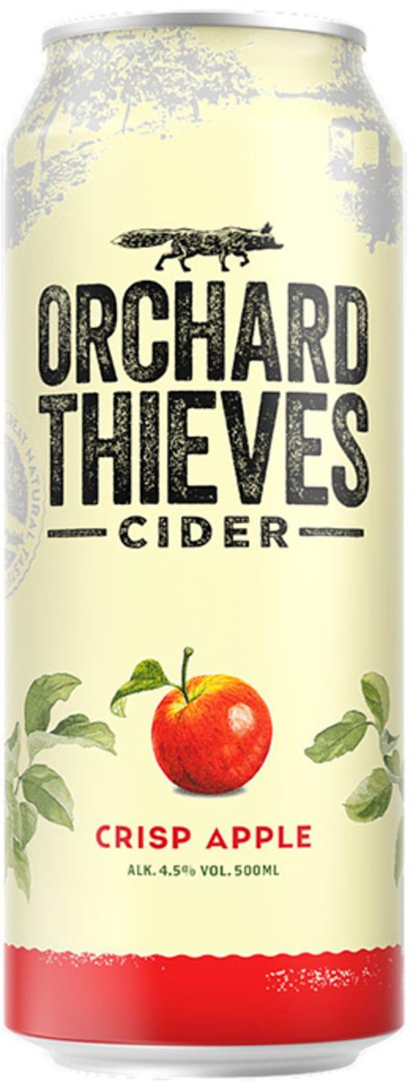 Orchard Thieves Crisp Apple Cider burk