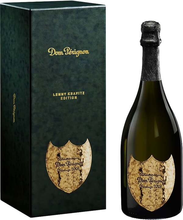 Dom Pérignon Champagne Lenny Kravitz Edition Brut 2008
