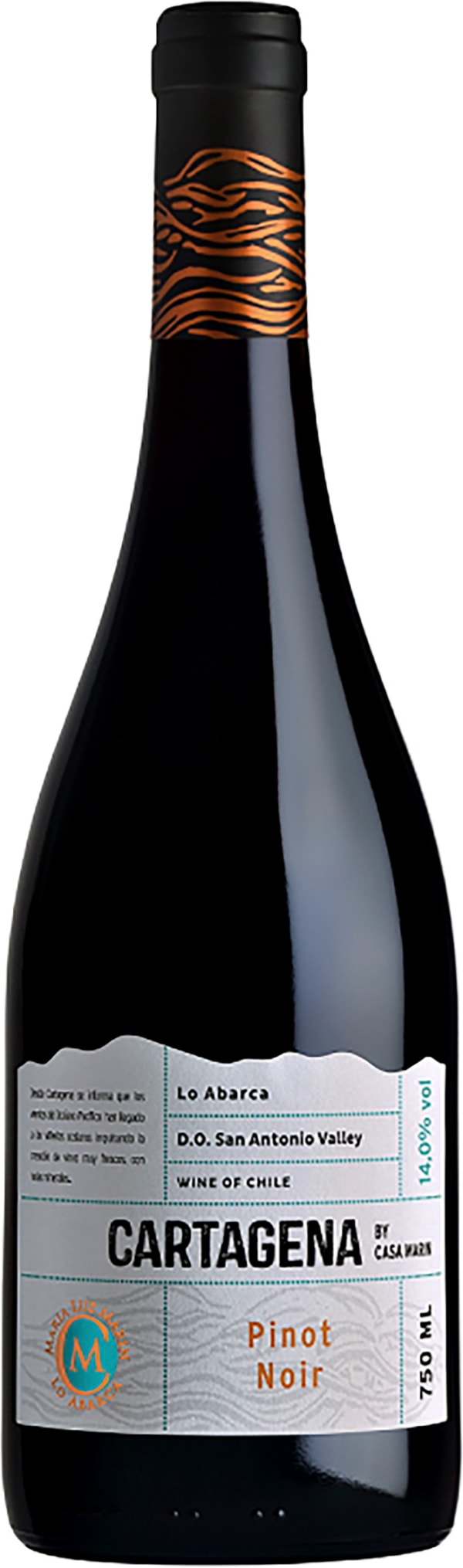 Casa Marin Cartagena Pinot Noir 2016