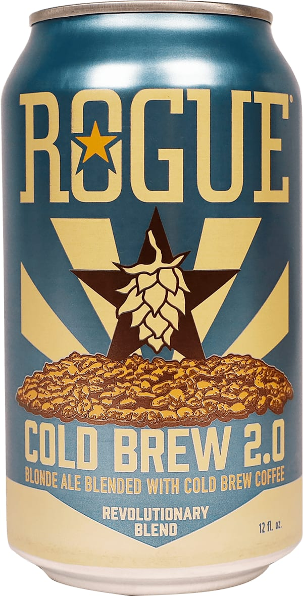Rogue Cold Brew 2.0 Coffee Blonde Ale can
