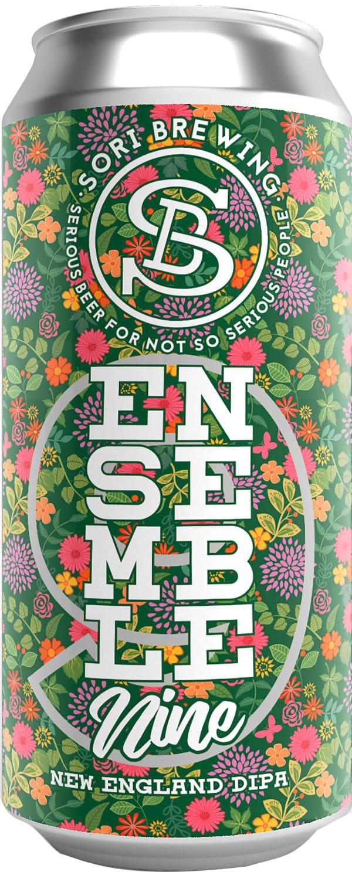 Sori Ensemble Nine New England DIPA can