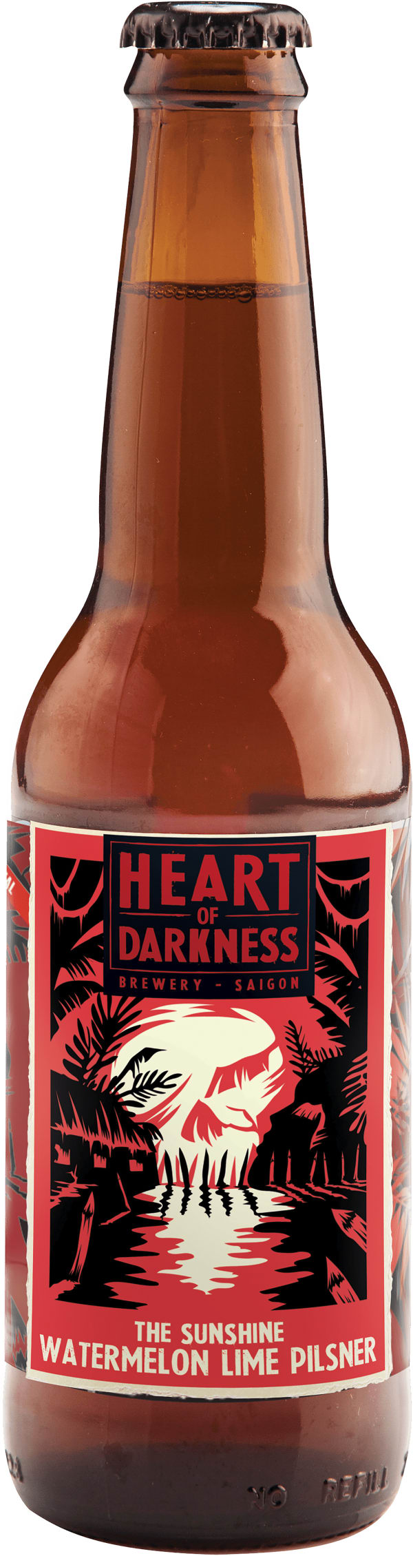Heart Of Darkness The Sunshine Watermelon Lime Pilsner