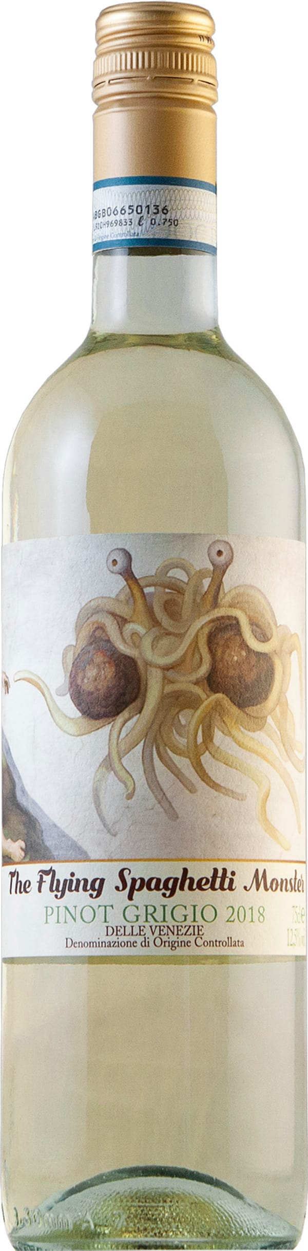 The Flying Spaghetti Monster Pinot Grigio 2018