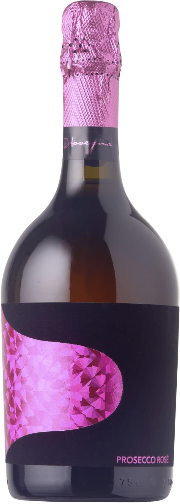 Dissegna Organic Prosecco Rosé Extra Dry