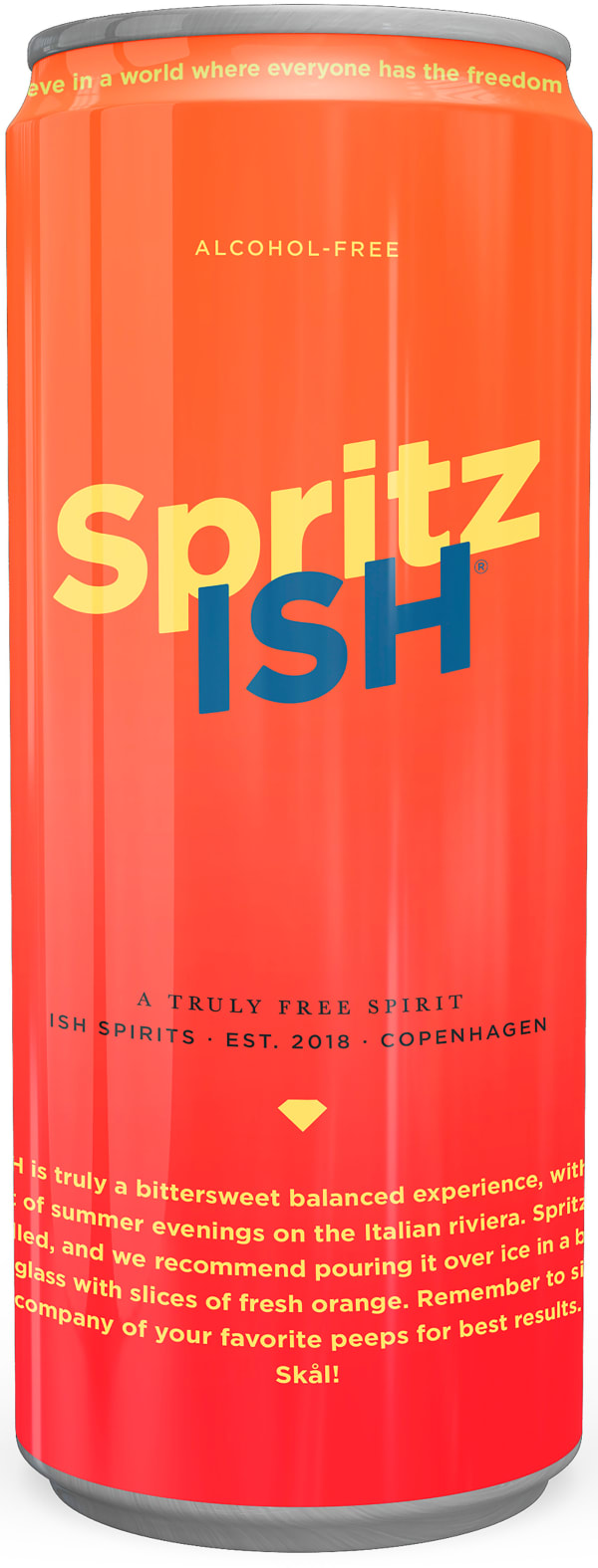 Spritzish Alcohol Free can