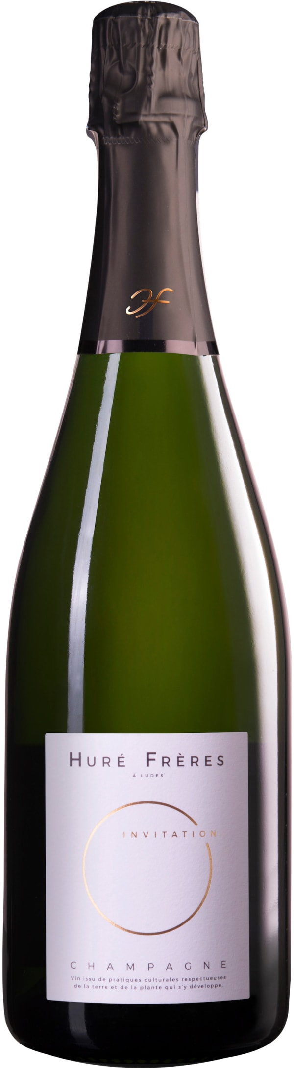 Huré Frères Invitation Champagne Brut