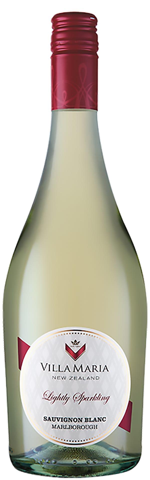 Villa Maria Lightly Sparkling Sauvignon Blanc 2019