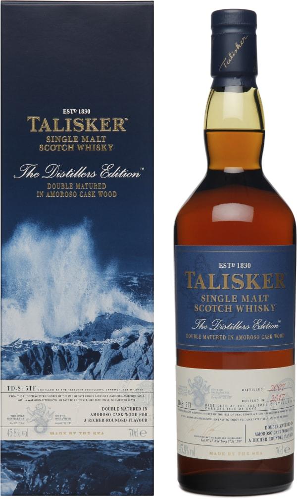 Talisker The Distiller's Edition 2017 Single Malt 2017