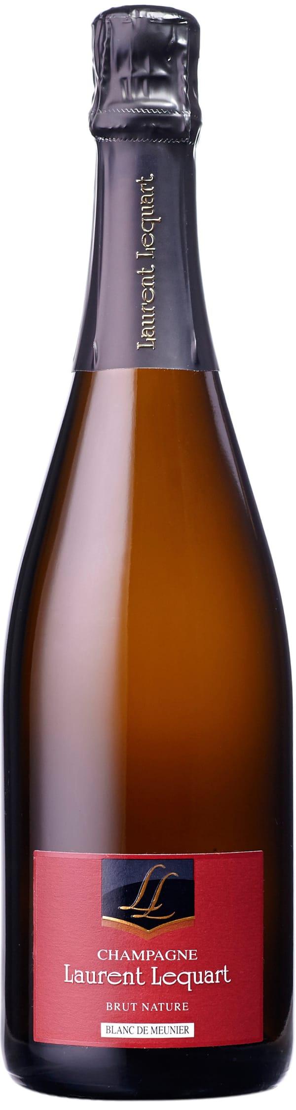 Laurent Lequart Blanc de Meunier Champagne Brut Nature
