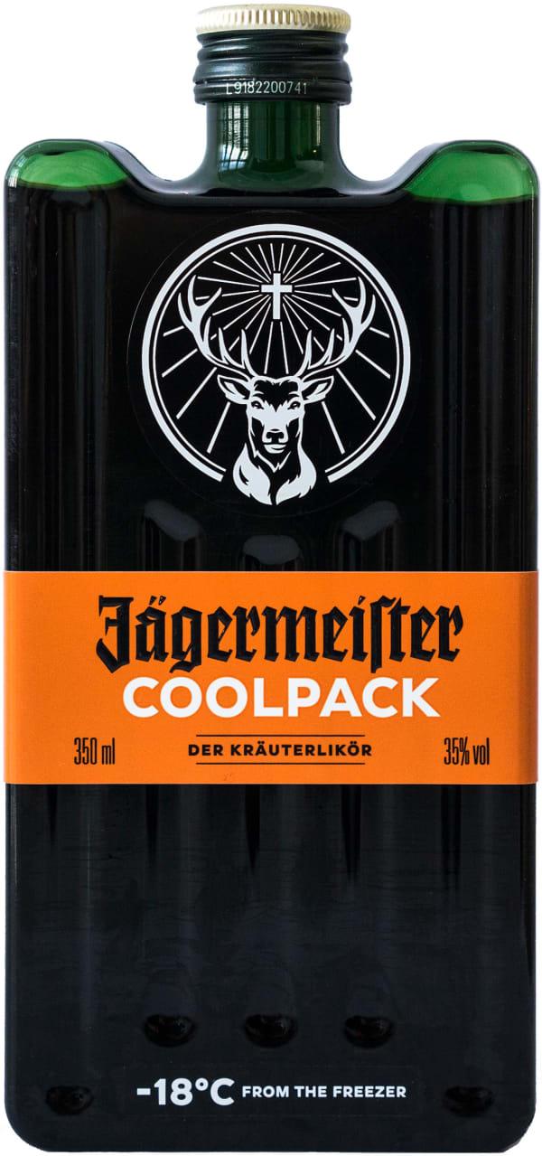 Jägermeister Coolpack plastic bottle