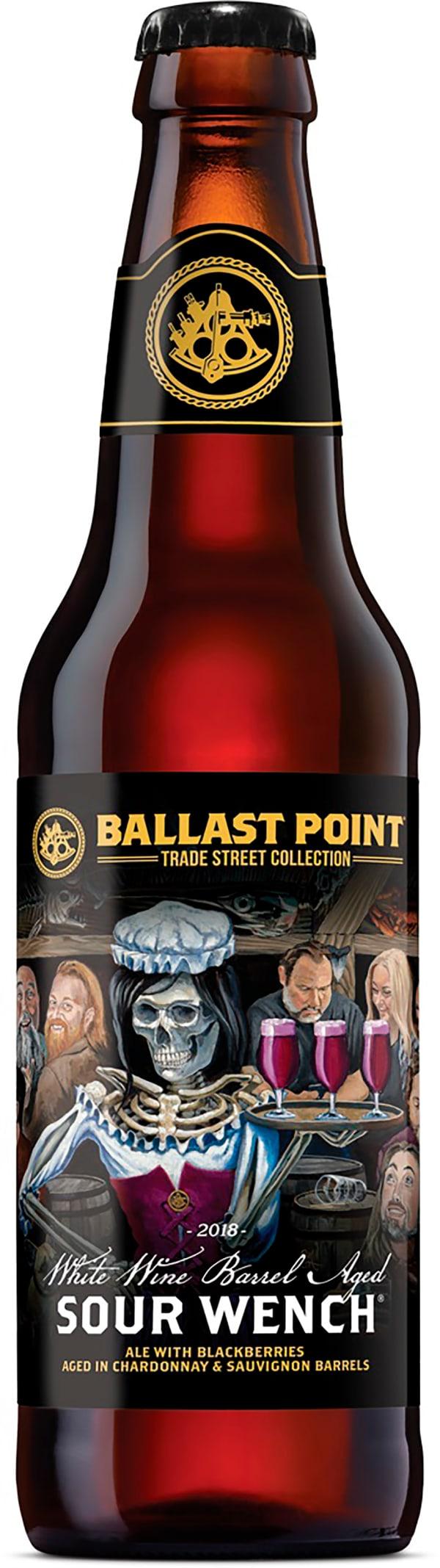 Ballast Point White Wine Barrel Aged Sour Wench