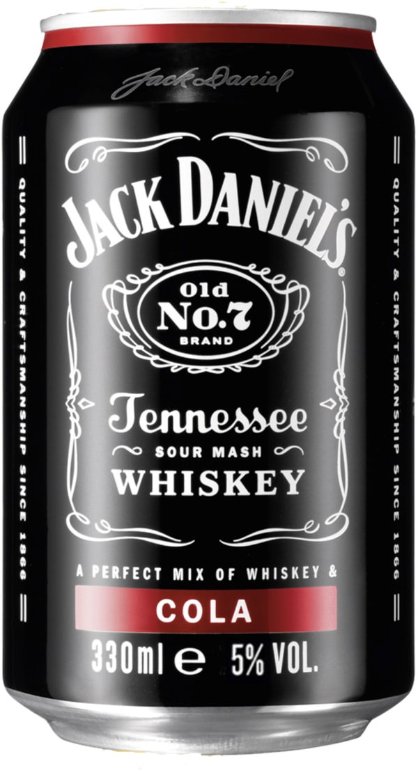 Jack Daniel's Cola can