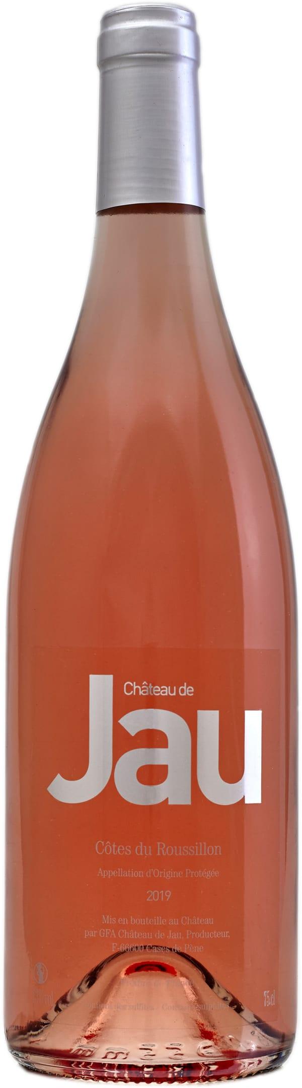 Château de Jau Côtes du Roussillon Rosé 2018