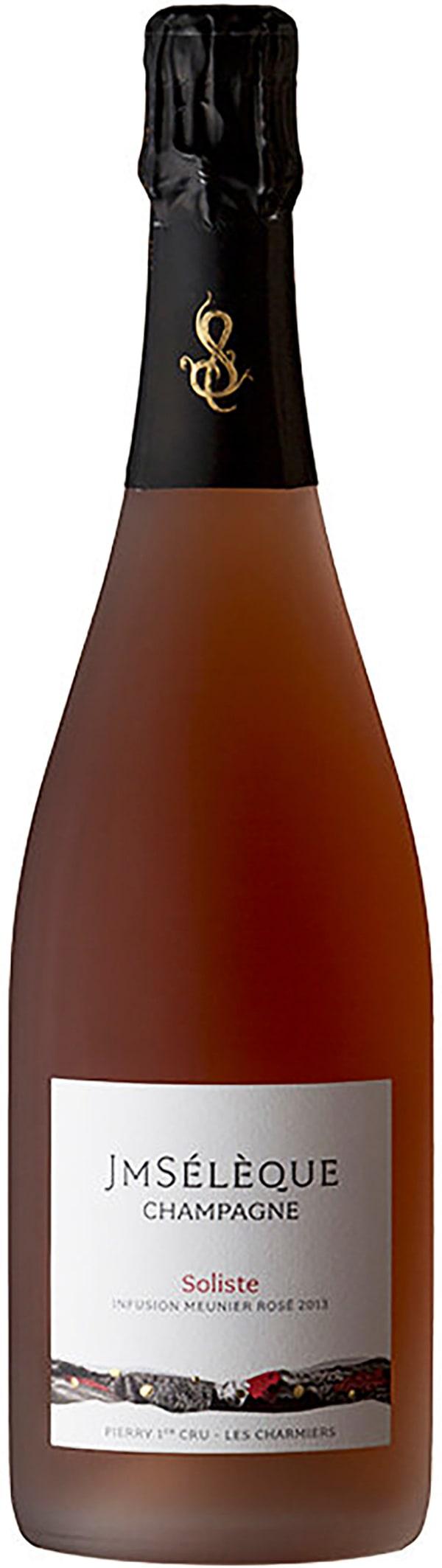 J-M Sélèque Soliste Infusion Meunier Champagne Rosé Extra Brut