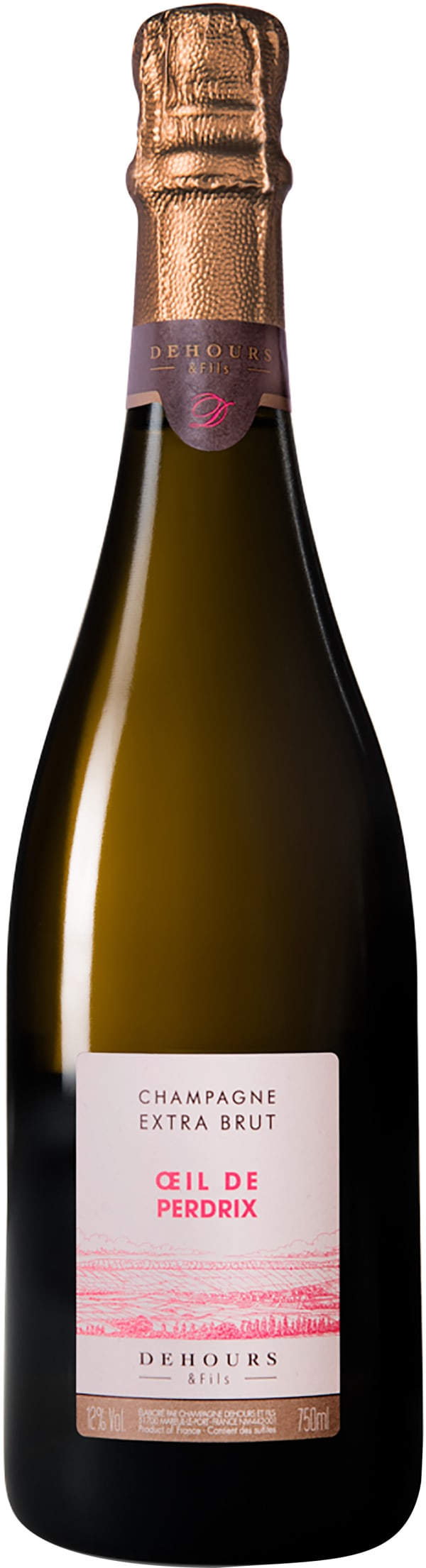 Dehours & Fils Oeil de Perdrix Champagne Extra Brut