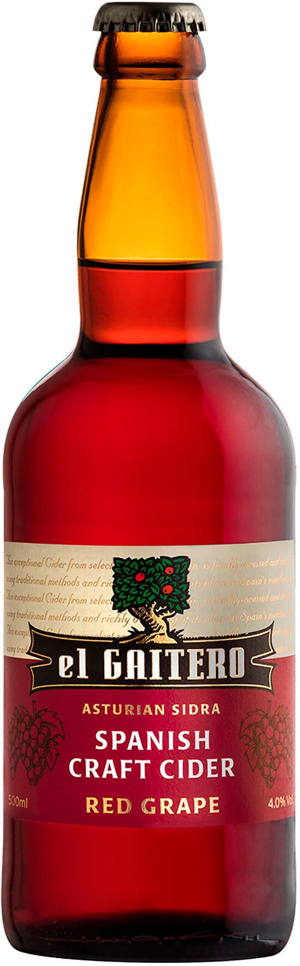 El Gaitero Red Grape Craft Cider
