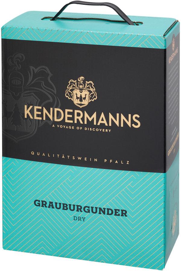 Kendermanns Grauburgunder Dry 2018 bag-in-box