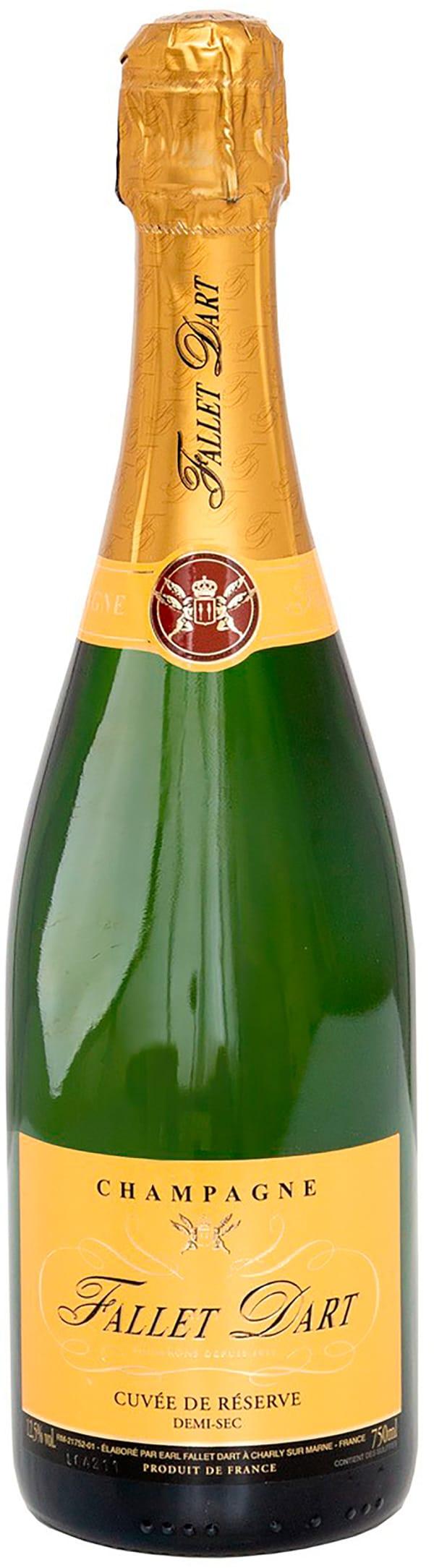 Fallet Dart Cuvée de Réserve Champagne Demi-Sec