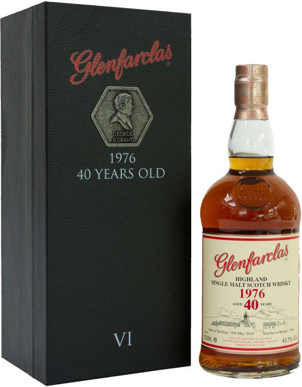 Glenfarclas 1976 40 Year Old Single Malt 1976