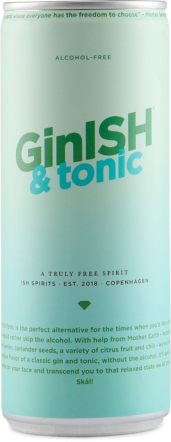 Ginish & Tonic Alcohol Free can