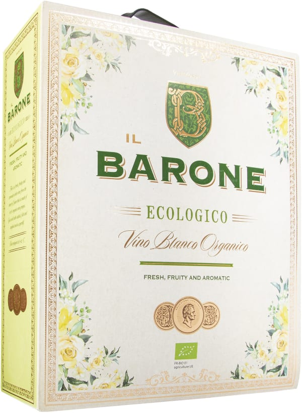 Il Barone Vino Blanco Organico 2018 lådvin