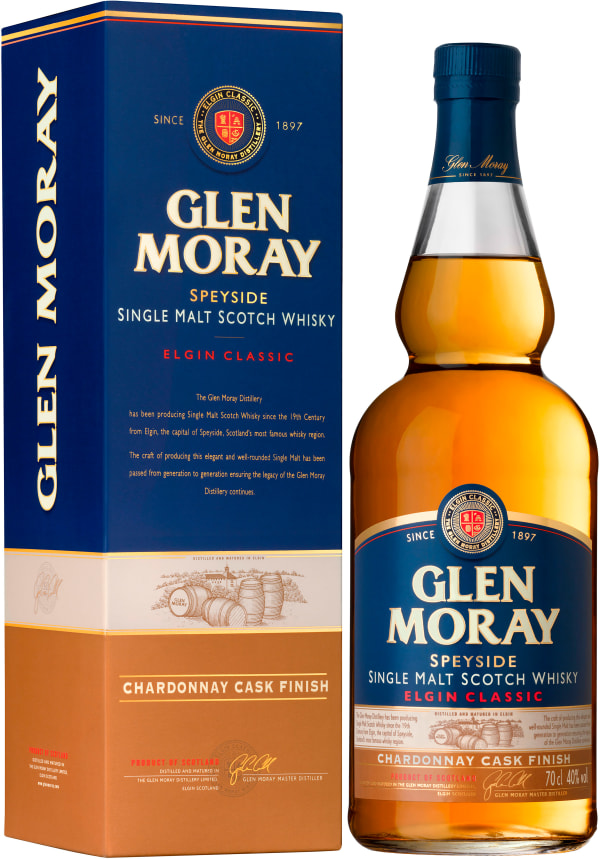 Glen Moray Chardonnay Cask Finish Single Malt
