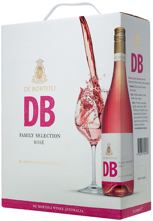 De Bortoli DB Selection Rosé 2017 bag-in-box
