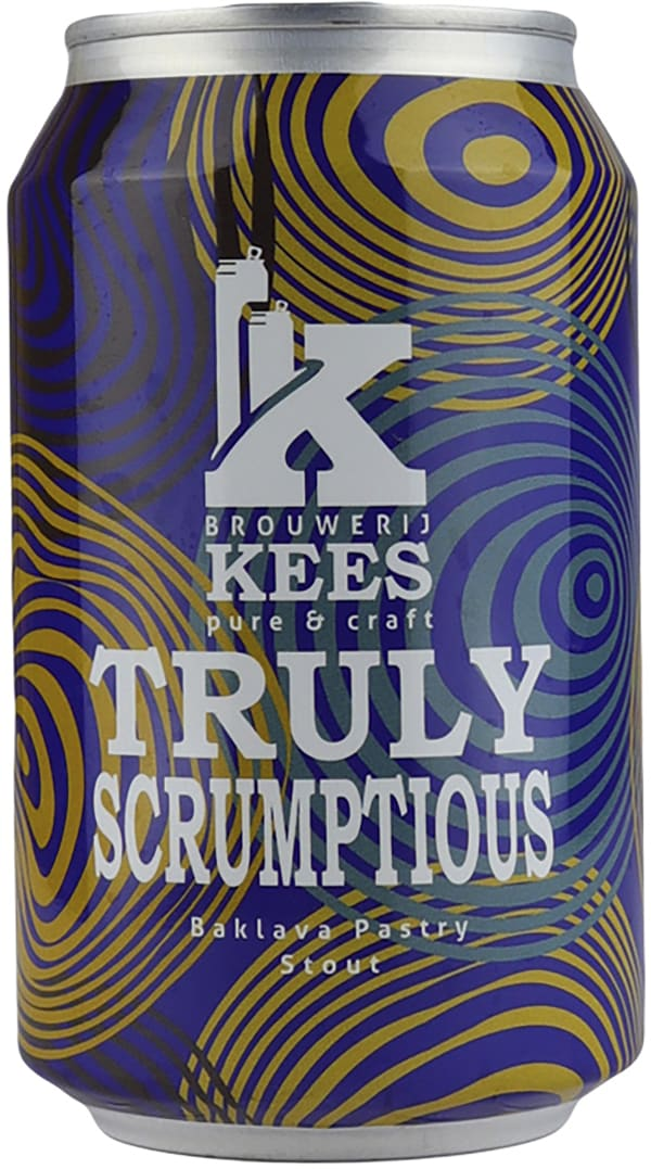 Kees Truly Scrumptious Baklava Pastry Stout burk
