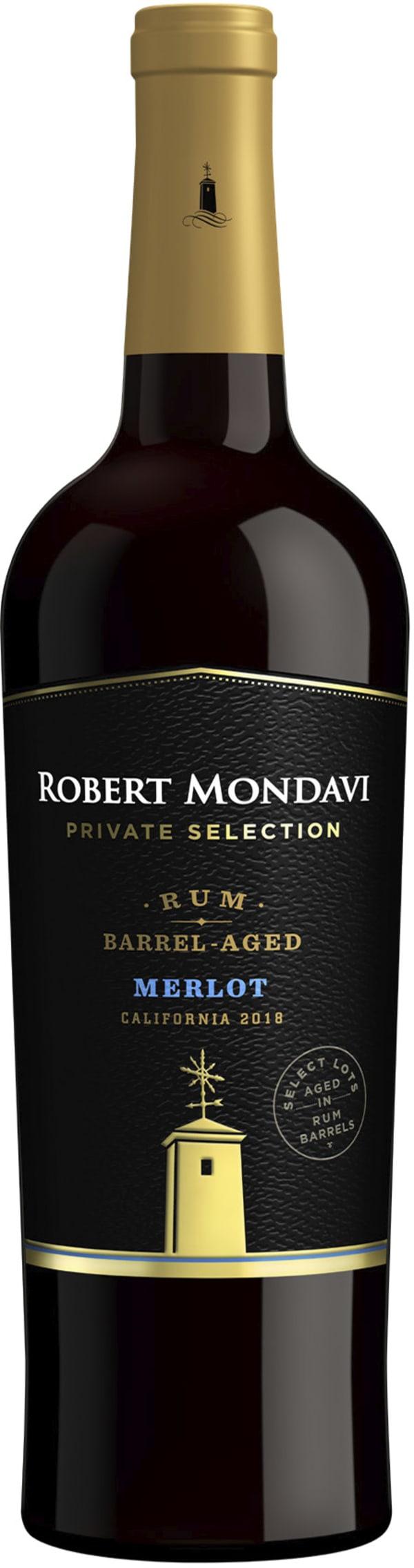 Robert Mondavi Rum Barrel-Aged Merlot 2018