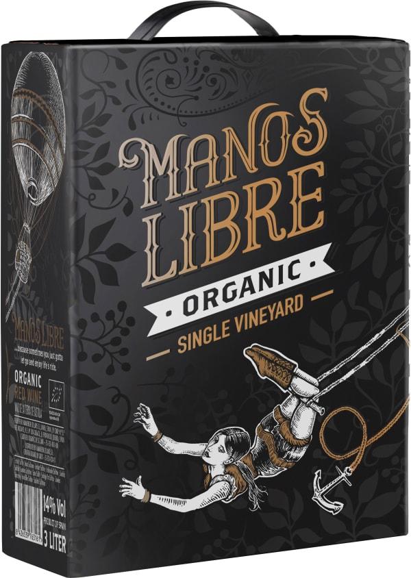 Manos Libre Organic Single Vineyard 2017 bag-in-box
