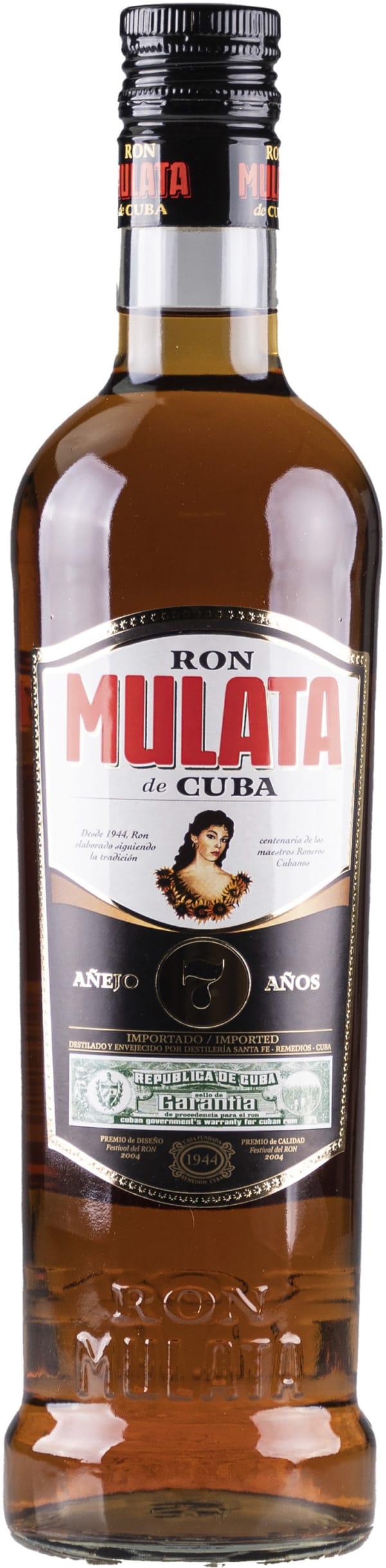 Ron Mulata de Cuba 7 añejo 38%