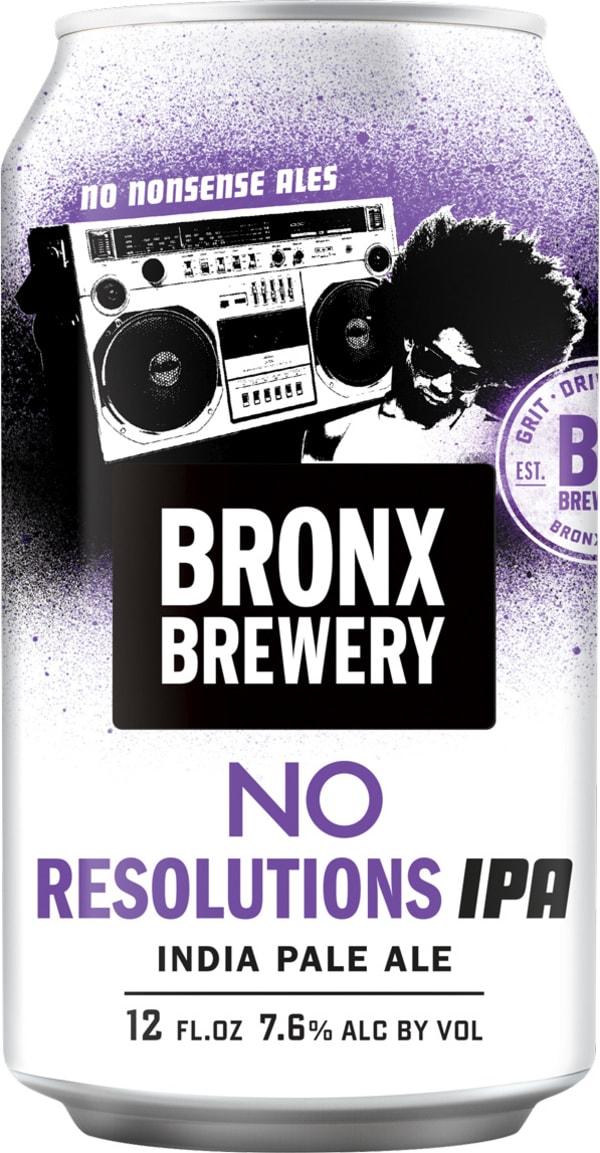 Bronx No Resolutions IPA can