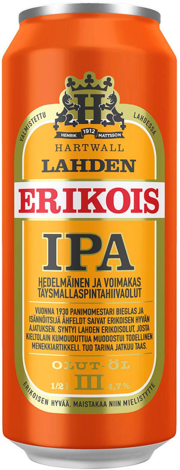 Lahden Erikois IPA can