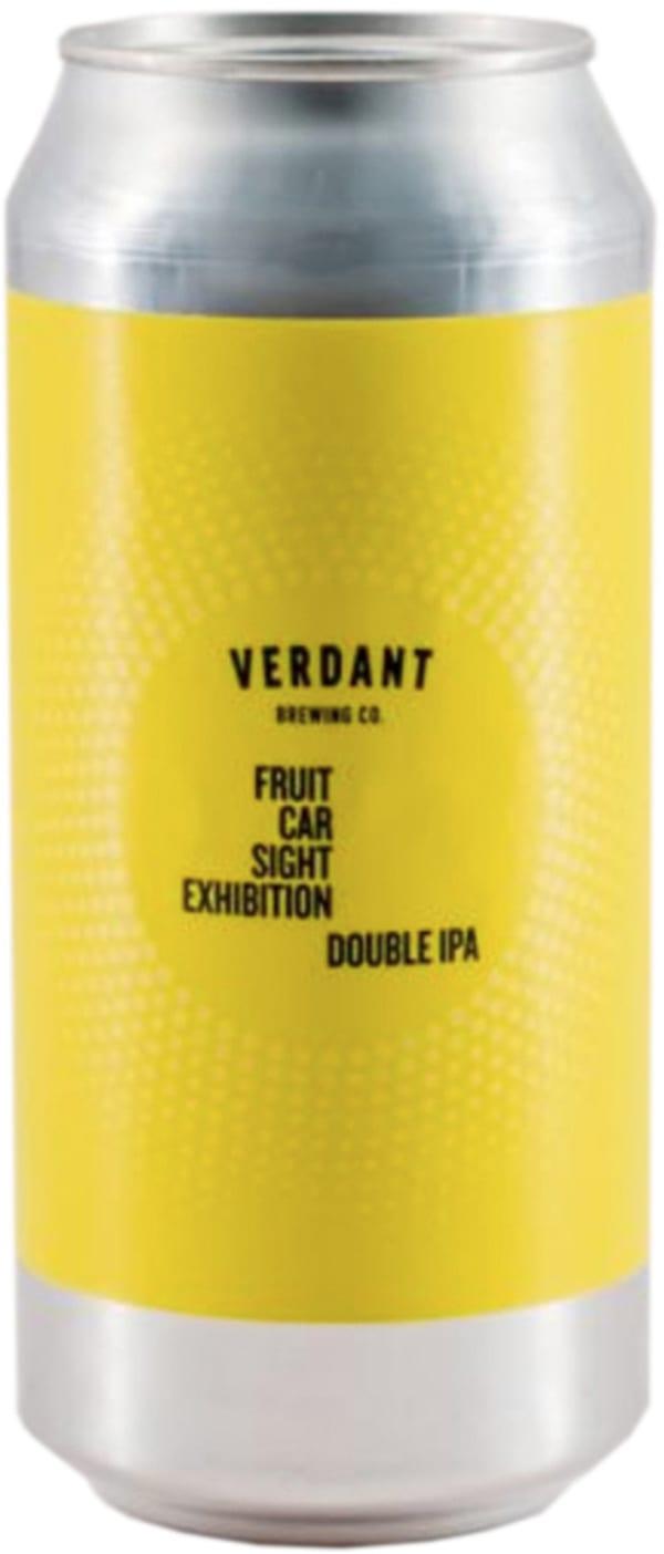 Verdant Fruit Car Sight Exhibition DIPA can