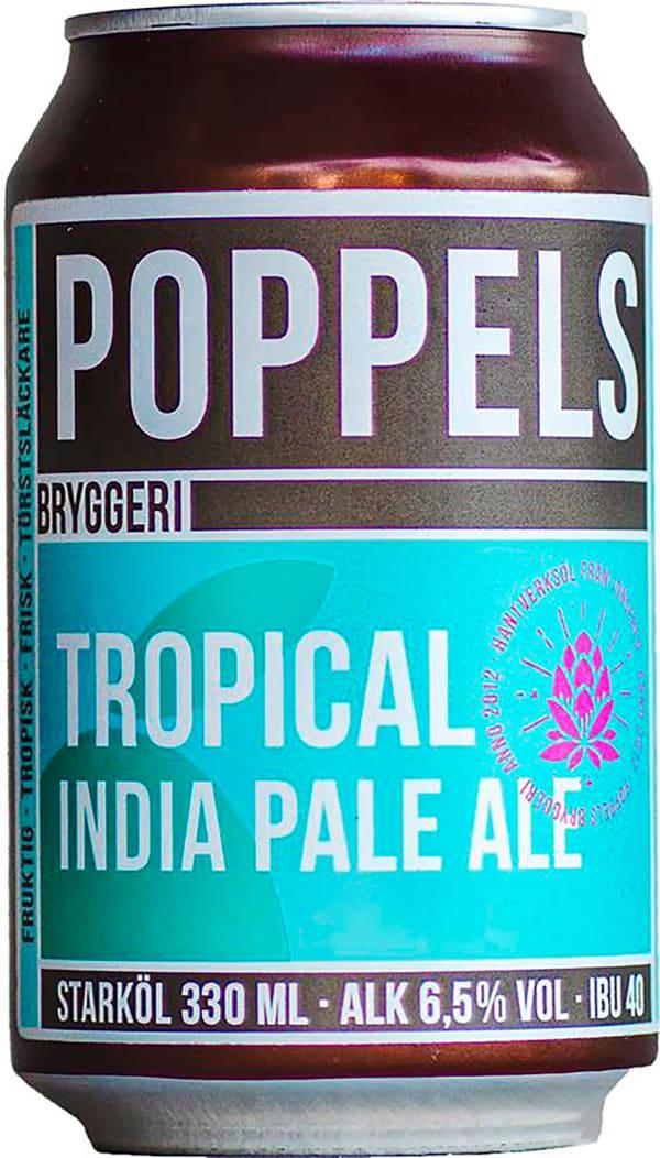 Poppels Tropical India Pale Ale burk