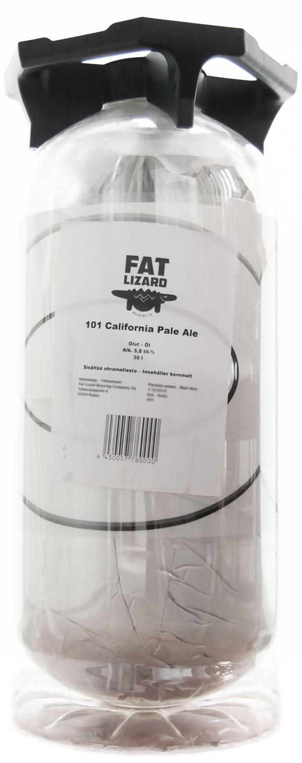 Fat Lizard 101 California Pale Ale keg