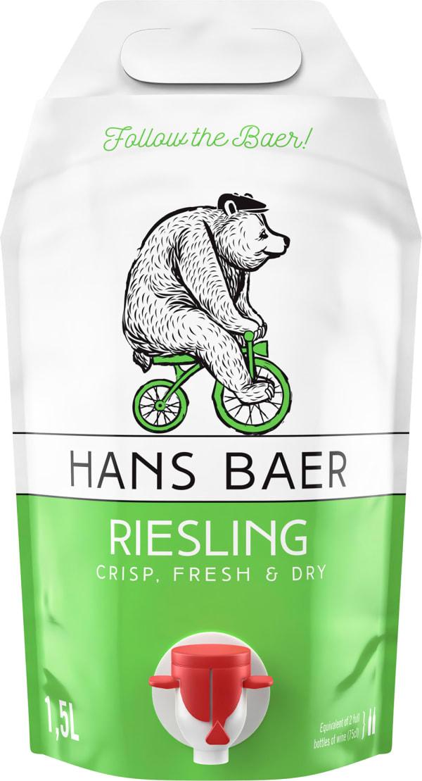 Hans Baer Riesling 2018 viinipussi