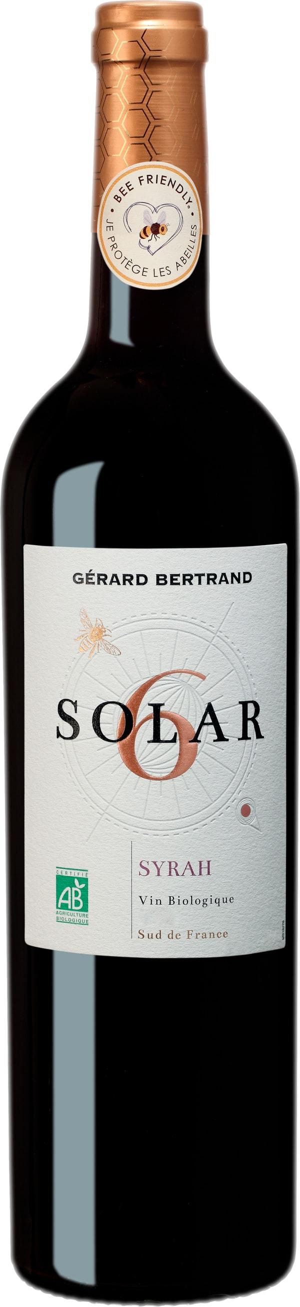 Gérard Bertrand Solar 6 Bee Friendly Syrah 2018
