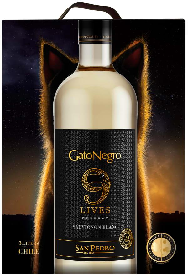 Gato Negro 9 Lives Reserve Sauvignon Blanc 2017 bag-in-box