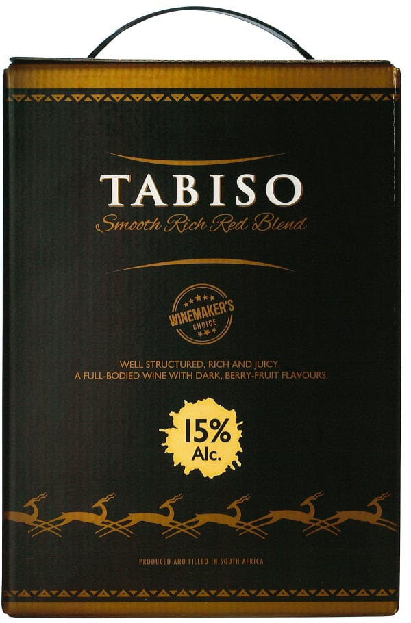 Darling Cellars Tabiso Smooth Rich Red Blend 2019 bag-in-box