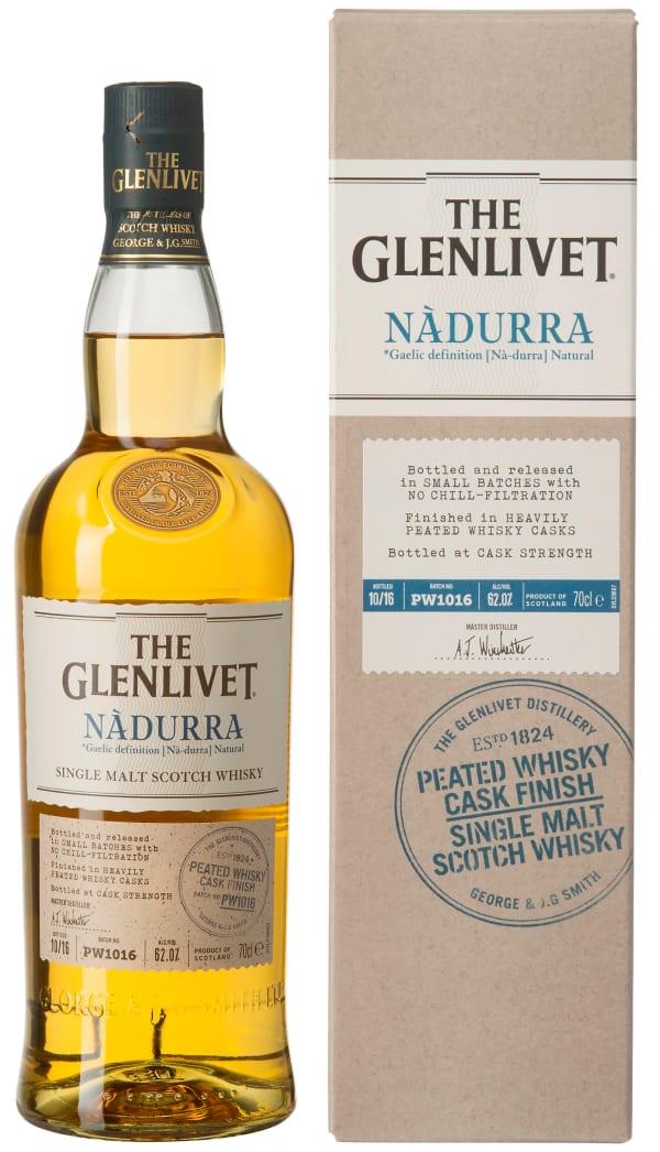 The Glenlivet Nàdurra Peated Whisky Cask Finish Single Malt