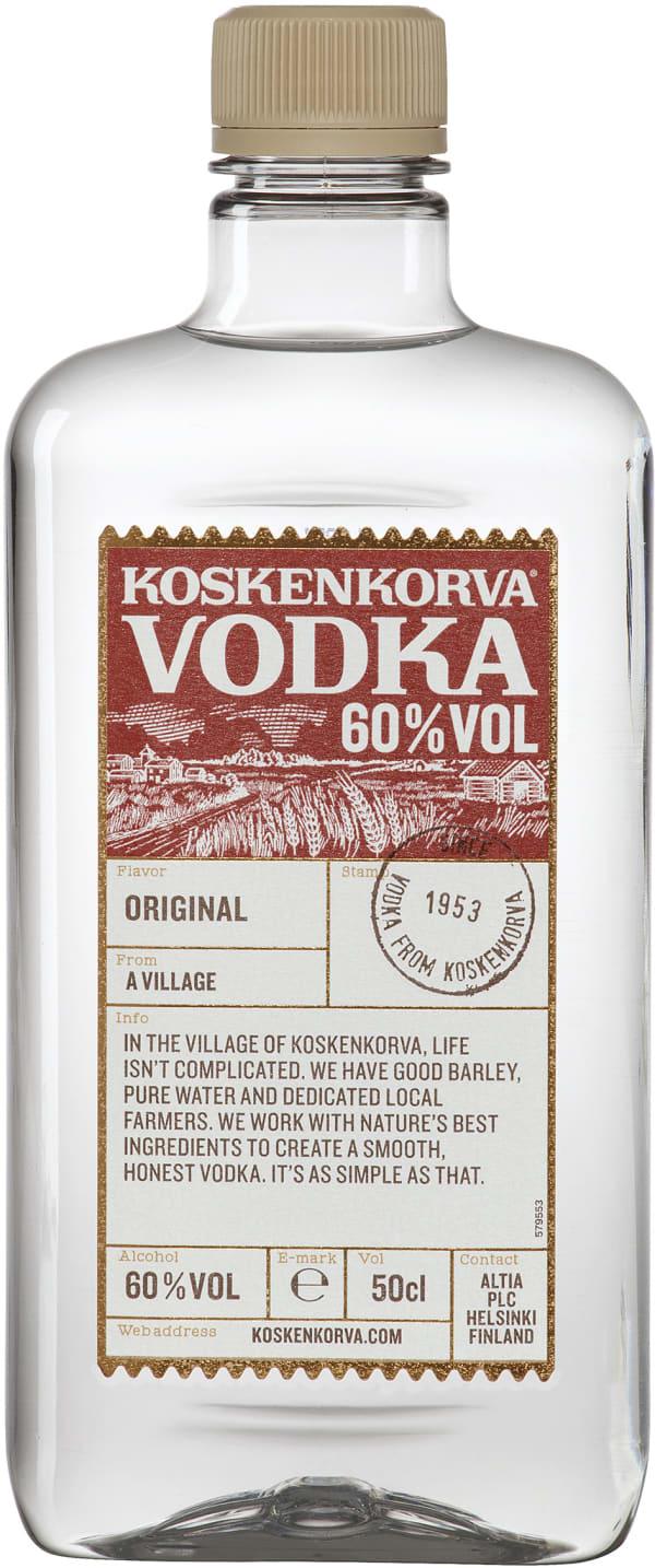 Koskenkorva Vodka 60% muovipullo