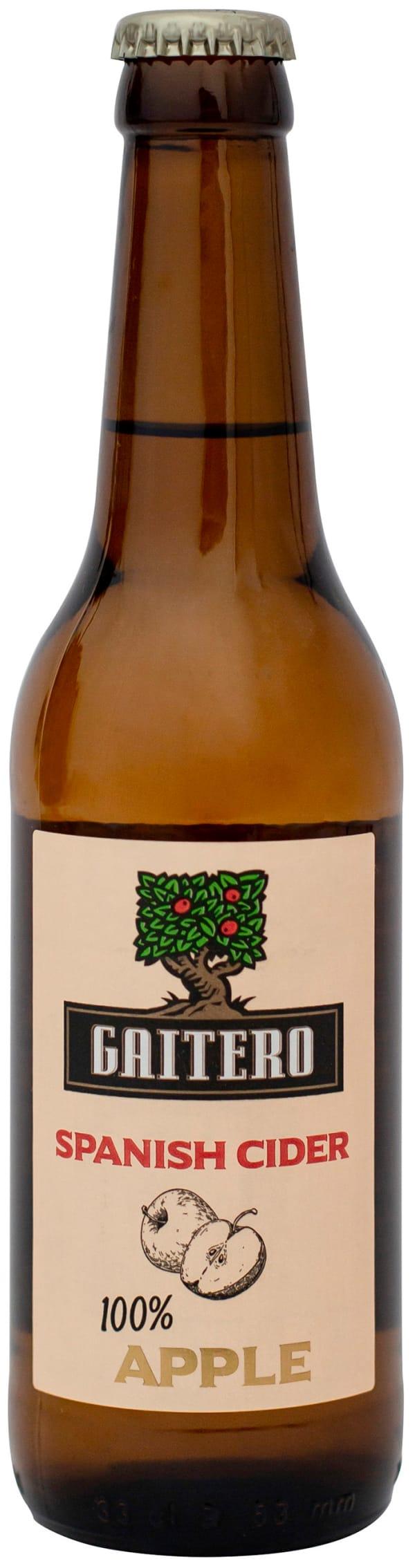El Gaitero Spanish Cider