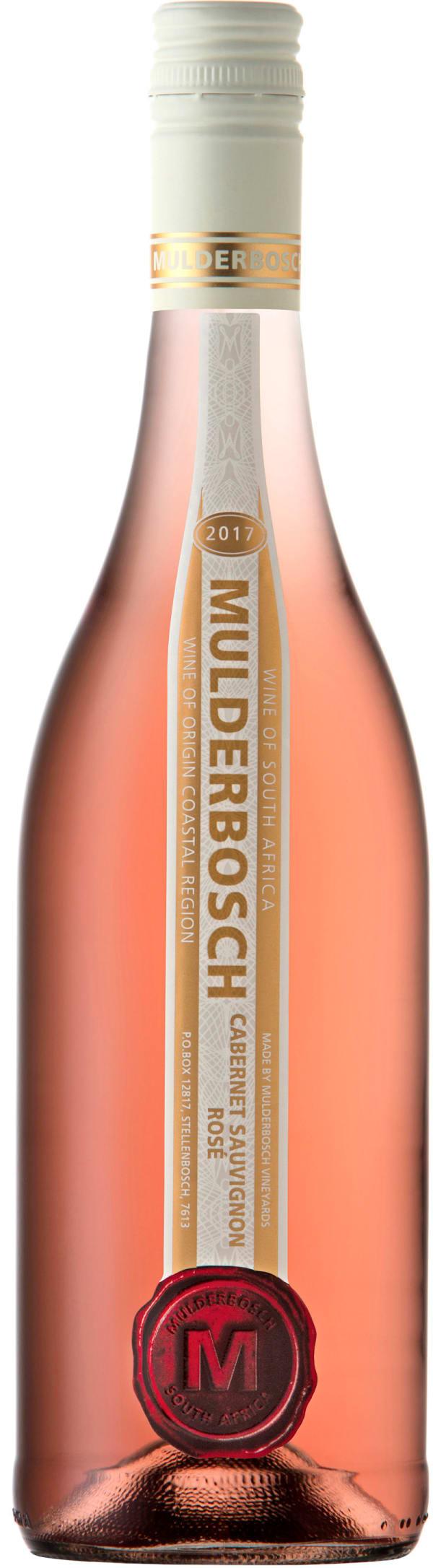 Mulderbosch Cabernet Sauvignon Rosé 2017