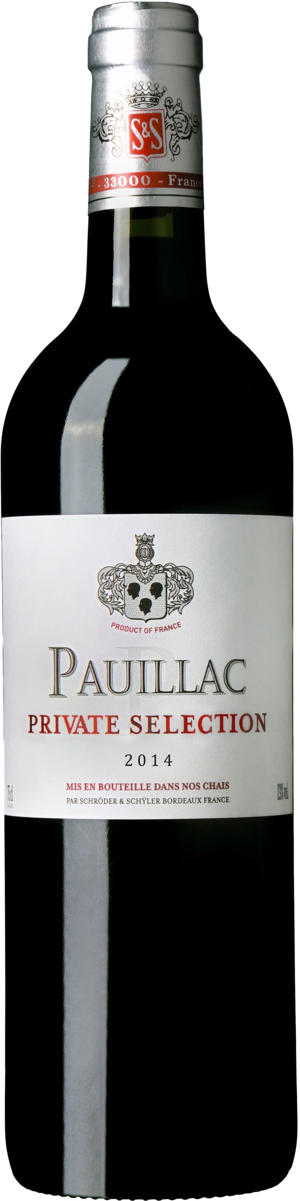 Schröder & Schÿler Private Selection Pauillac 2014