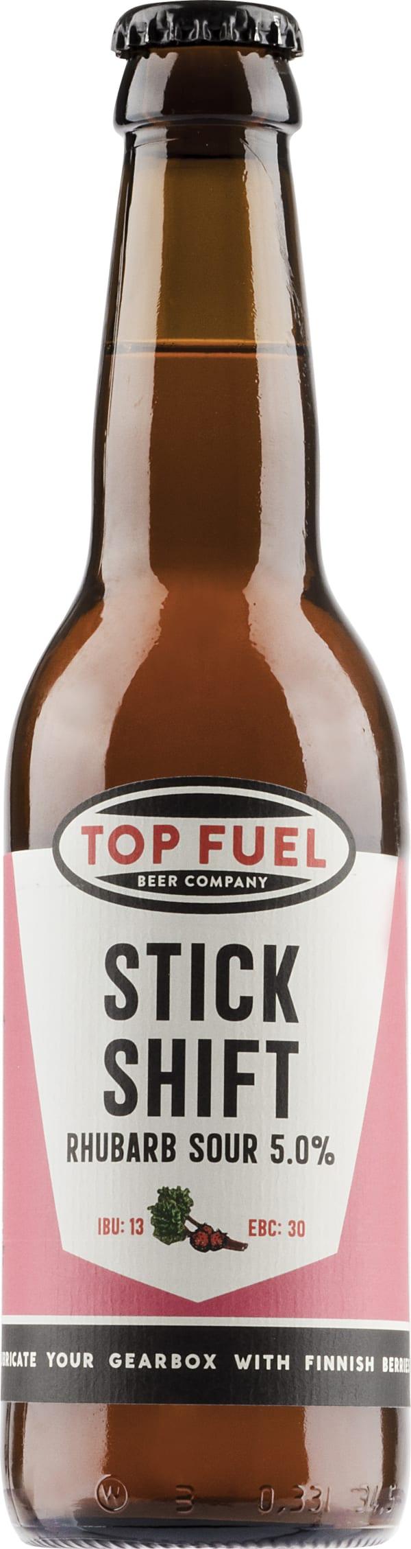 Top Fuel Stick Shift Rhubarb Strawberry Sour