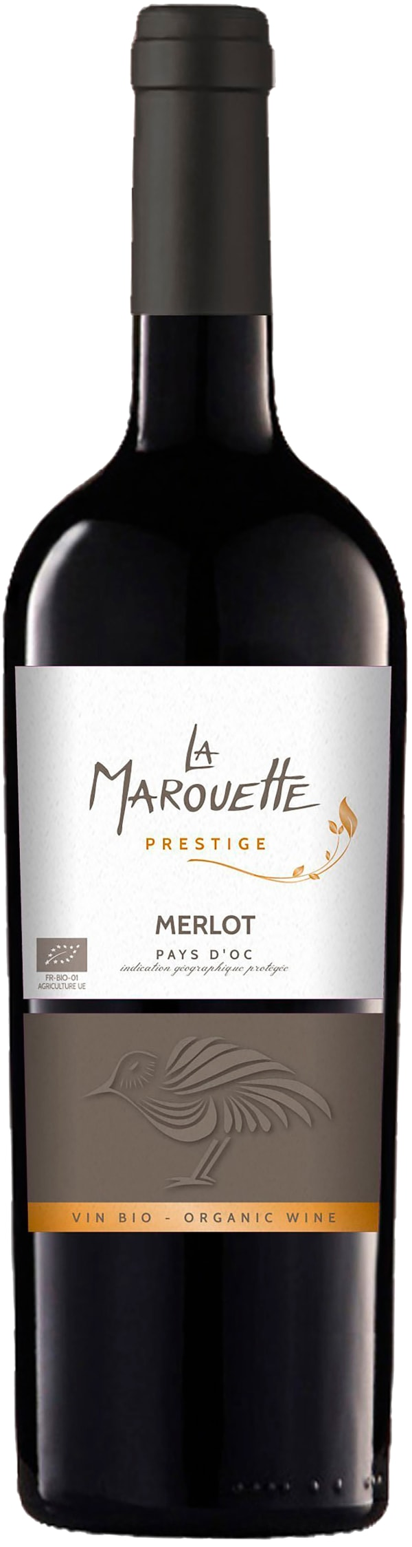 La Marouette Prestige Organic Merlot 2017