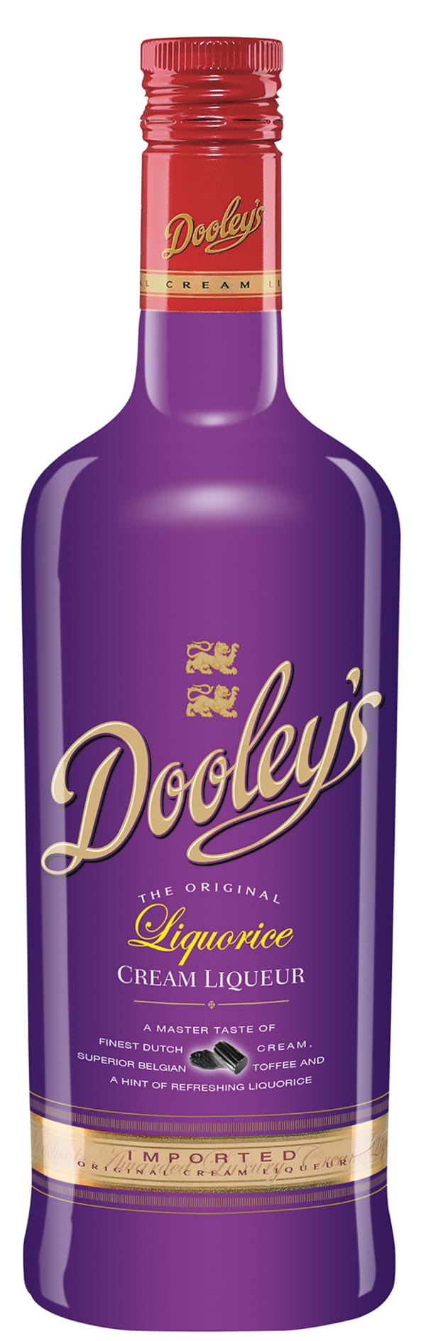 Dooley's Liquorice Cream