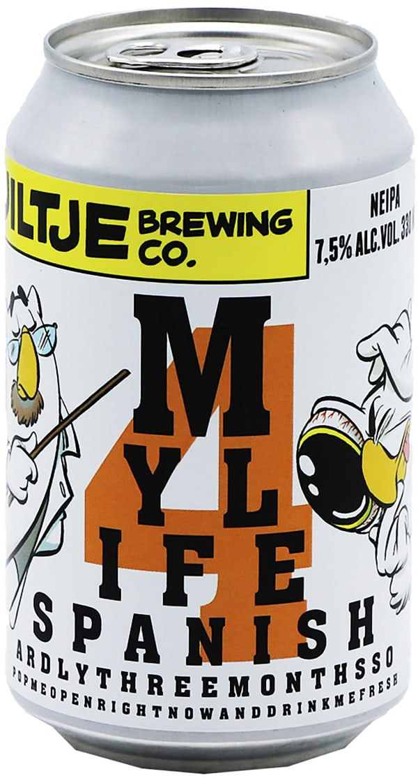 Uiltje My Life Span 4 NEIPA can